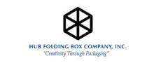 Hub Folding Box Company Logo